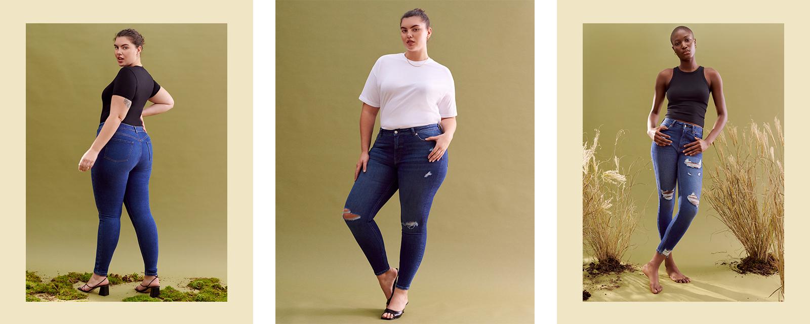 Jean skinny en coton durable